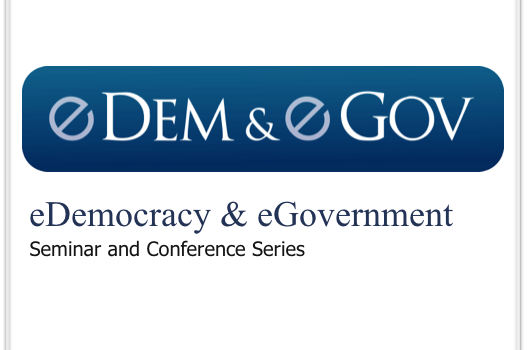 International Conference on eDemocracy & eGovernment